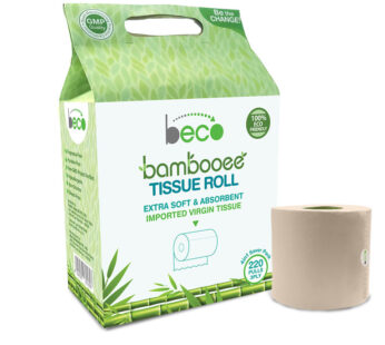 Beco Bambooee Tissue Roll (3 Ply) – 220 Pulls