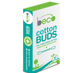 Beco Cotton Buds with Paper Stick-Pack of 5